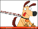 Always in Trouble Book Cover