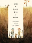 book cover for sam and dave dig a hole